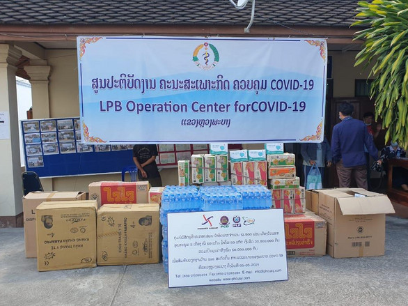 Support LPB Operation Center for prevention COVID-19 pandemic