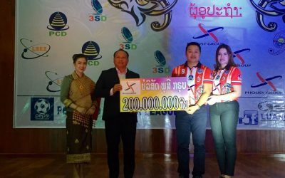 Phousy Group has Supported funds to Luang Prabang UNITED